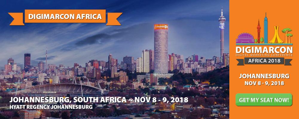 DigiMarCon Africa 2018