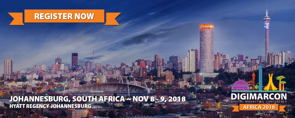 DigiMarCon Africa 2018 Register
